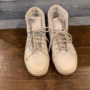 VANS high top canvas sneakers